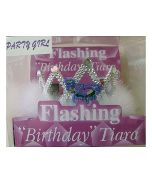 Girls Happy Birthday Tiara