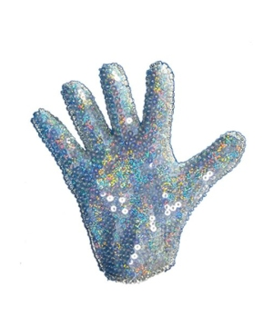 Glove Sequin - Adult Costume Accessory