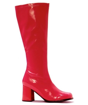 Go Go Red Boots Shoes