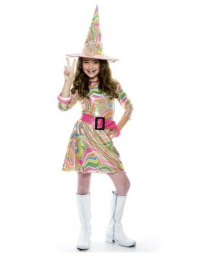 Groovy Witch Kids Costume