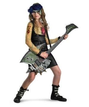 Heartbreak Rocker Kids Costume