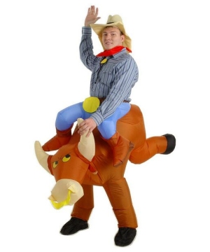 The Illusion Bull Rider Adult Costume