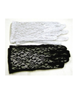 Lace Gloves - Costume Accessory