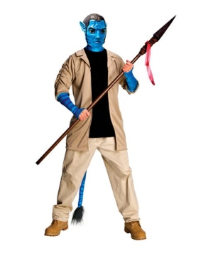 Avatar Jake Sully Men Costume deluxe