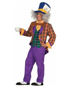 Mens Magical Mad Hatter Costume