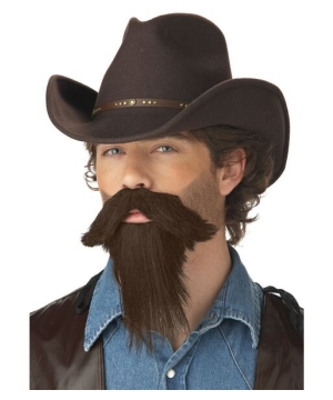 Mens Rustler full Goatee