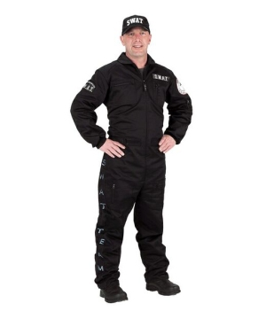 Mens Swat Costume