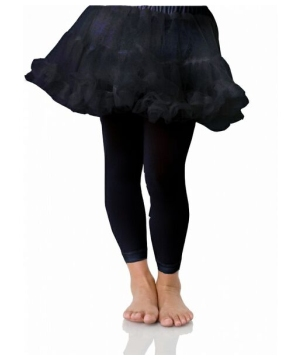 Petticoat Black - Child Costume Accessory