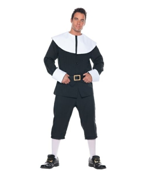 Pilgrim Man Costume - Adult Costume