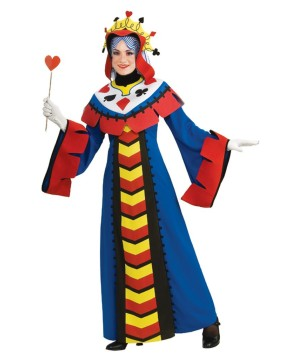 Playing Card Queen Adult Costume deluxe