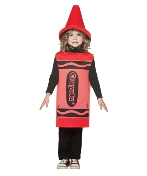 Red Crayola Crayon Infant/toddler Costume