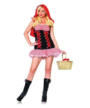 Red Hot Riding Hood Costume- Adult Costume