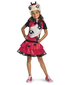 Littlest Pet Shop Ladybug Kids Costume