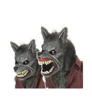 Werewolf Adult Mask