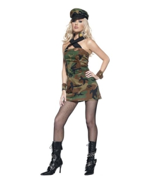 Womens Cadet Military Costume