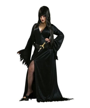 Womens Elvira plus size Costume