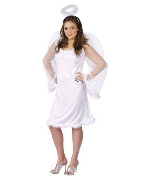 Womens Heaven Sent plus Costume