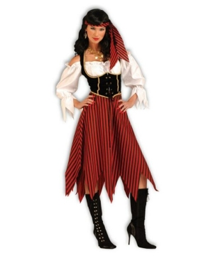 Womens Pirate Maiden Costume