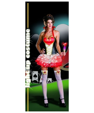 Womens Queen Heartbreakers Costume