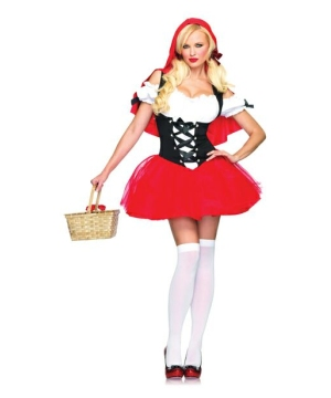 Racy Red Riding Hood Women's Costume