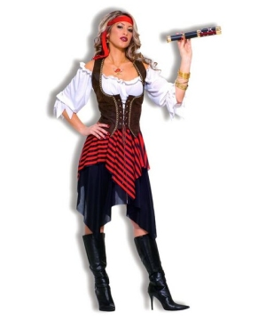 Womens Sweet Buccaneer Costume