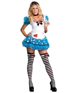 Wonderland Delight Women Costume