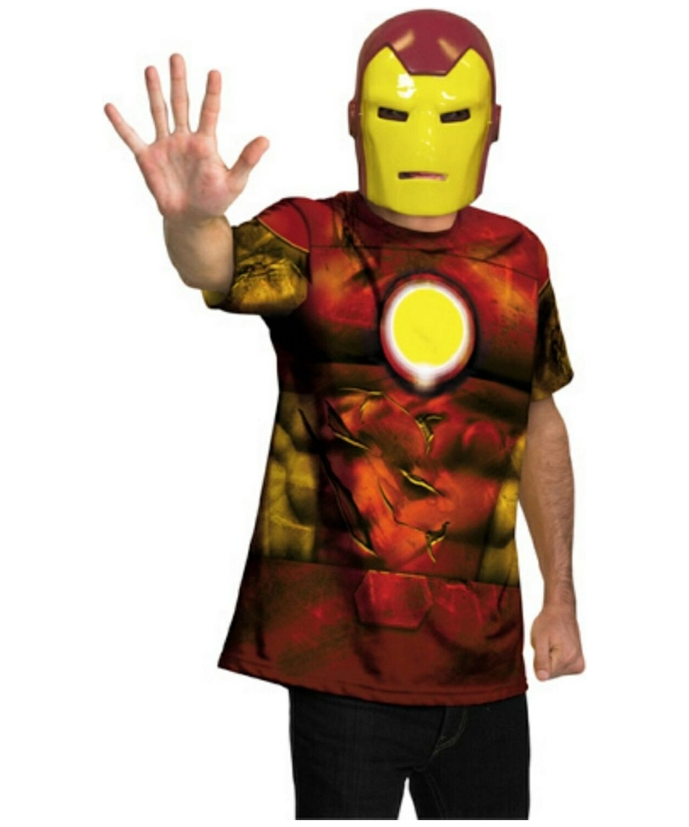 sc 1 st  Halloween Costumes & Iron Man Adult Costume - Men Superhero Costumes
