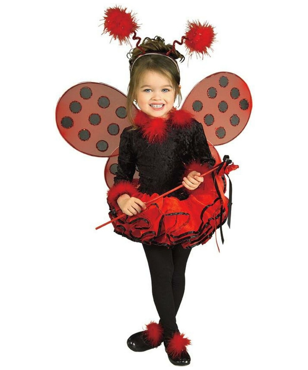 lady bug costume toddlerkids costume deluxe halloween costume at wonder costumes