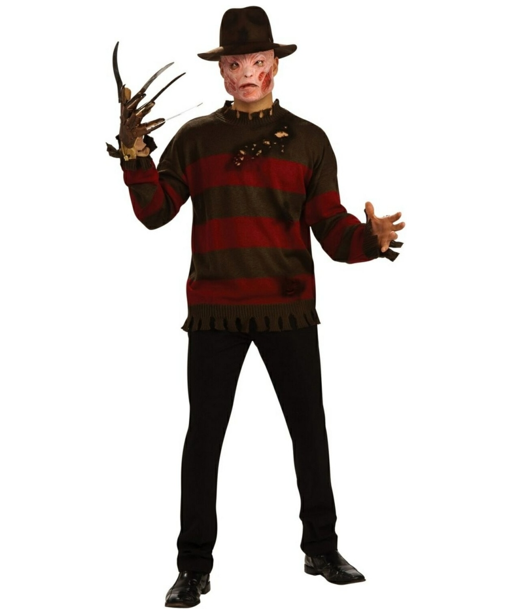 Adult Freddy Krueger Costume Men Costumes