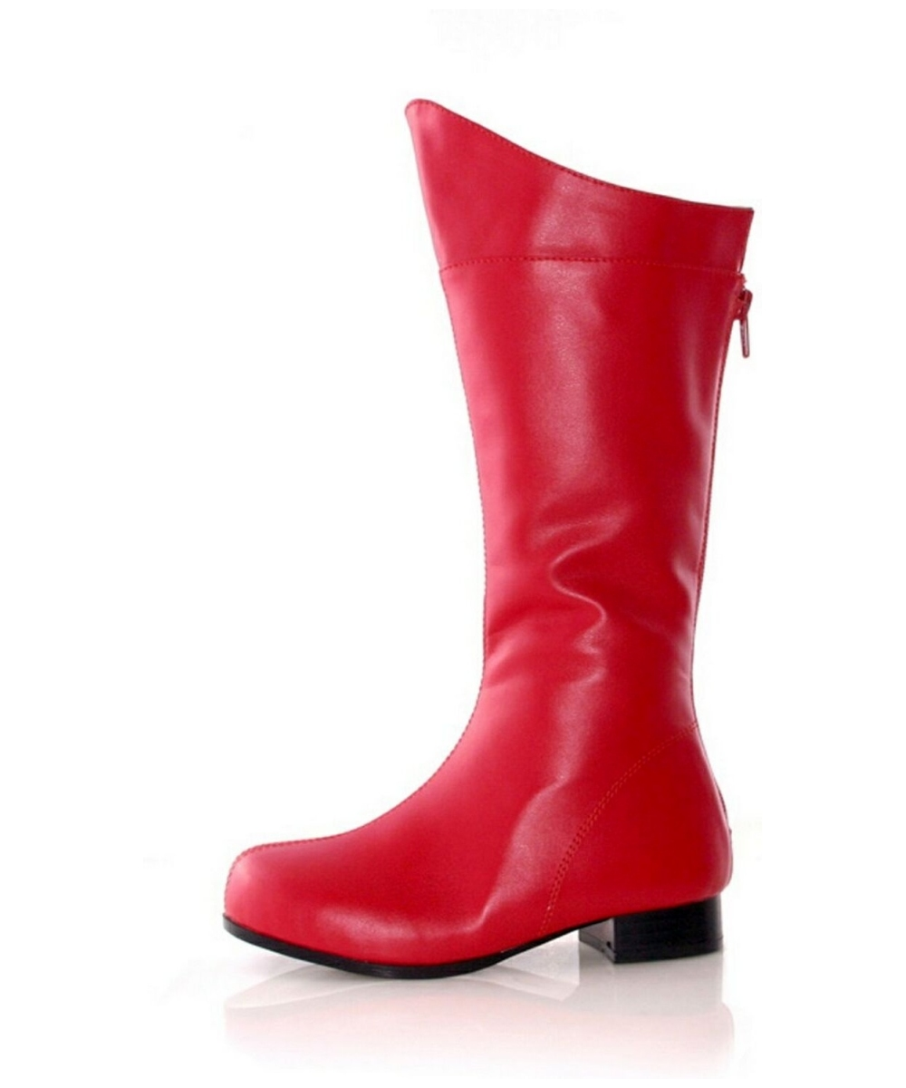 red boots girls
