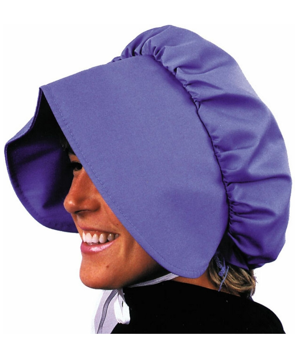 Blue Pioneer Bonnet - Costume Accessory - at Wonder Costumes 0d1620fd121