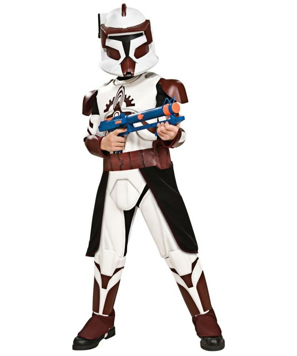 star wars clone wars commander fox kids movie costume star wars