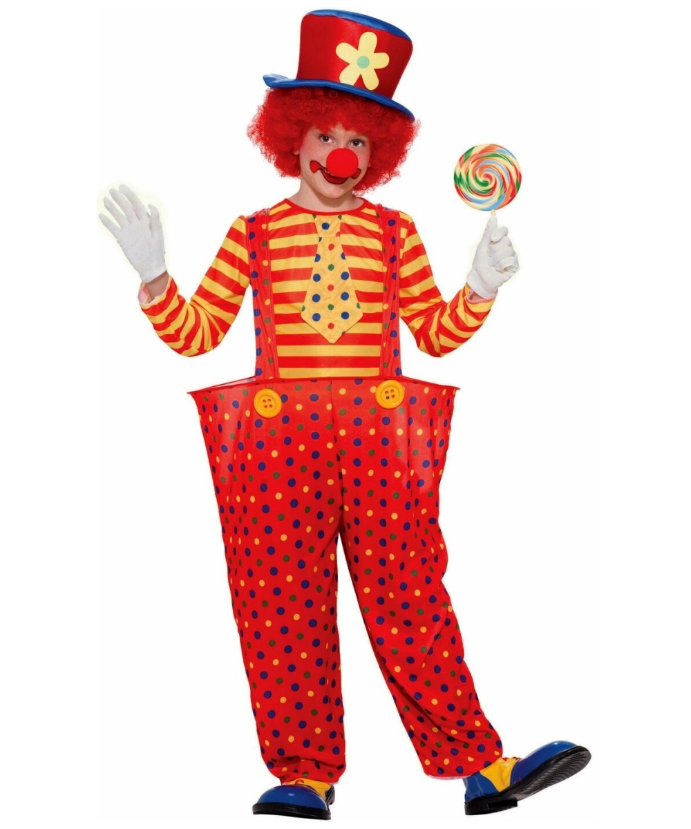 Boys Hoopy Clown Costume