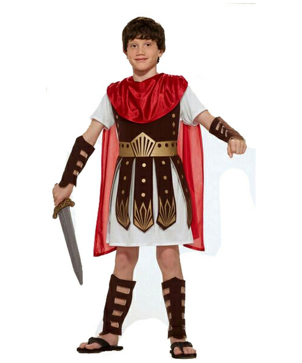sc 1 st  Halloween Costumes & Roman Warrior Kids Costume - Boys Roman Costumes