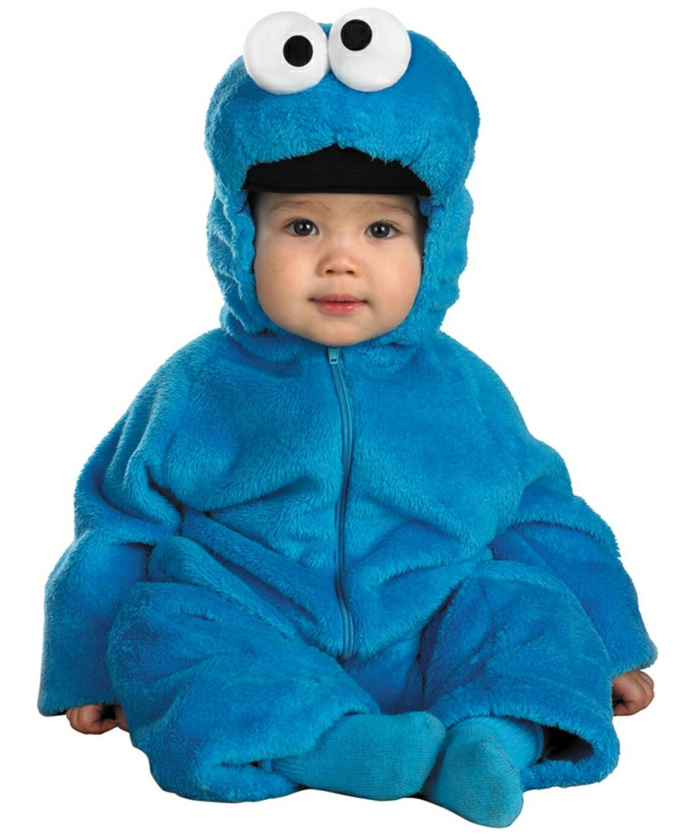 Sesame Street Cookie Monster Baby Costume Deluxe  sc 1 st  Wonder Costumes & Cookie Monster Baby Costume - Boys Halloween Costumes