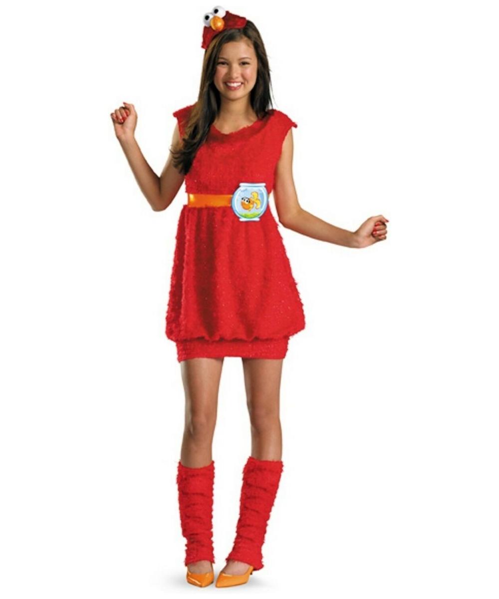 Elmo Costume - Child/teen Costume - Seasme Halloween Costume at Wonder Costumes  sc 1 st  Wonder Costumes & Elmo Costume - Child/teen Costume - Seasme Halloween Costume at ...