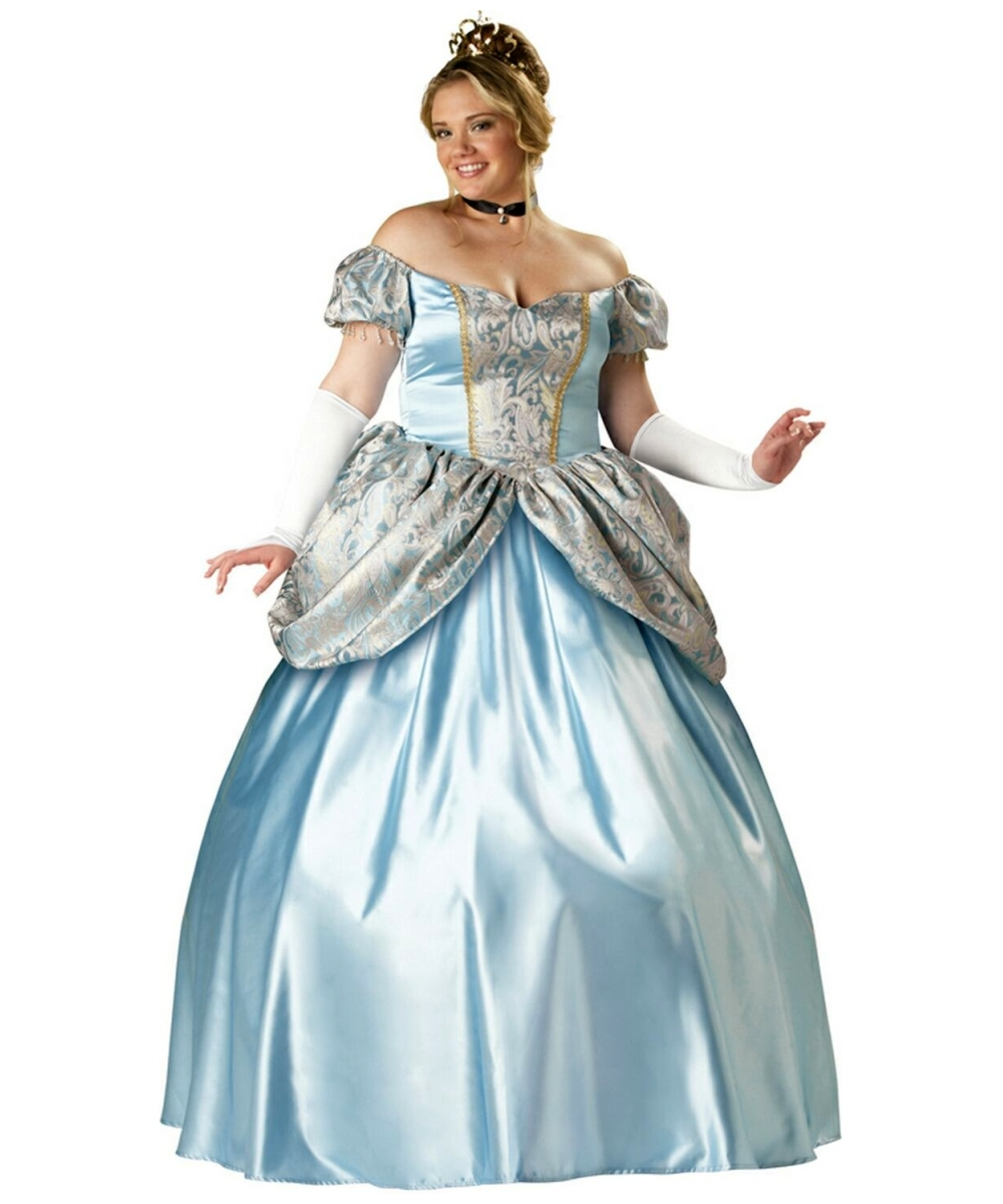 Adult Enchanting Princess plus size Disney Costume