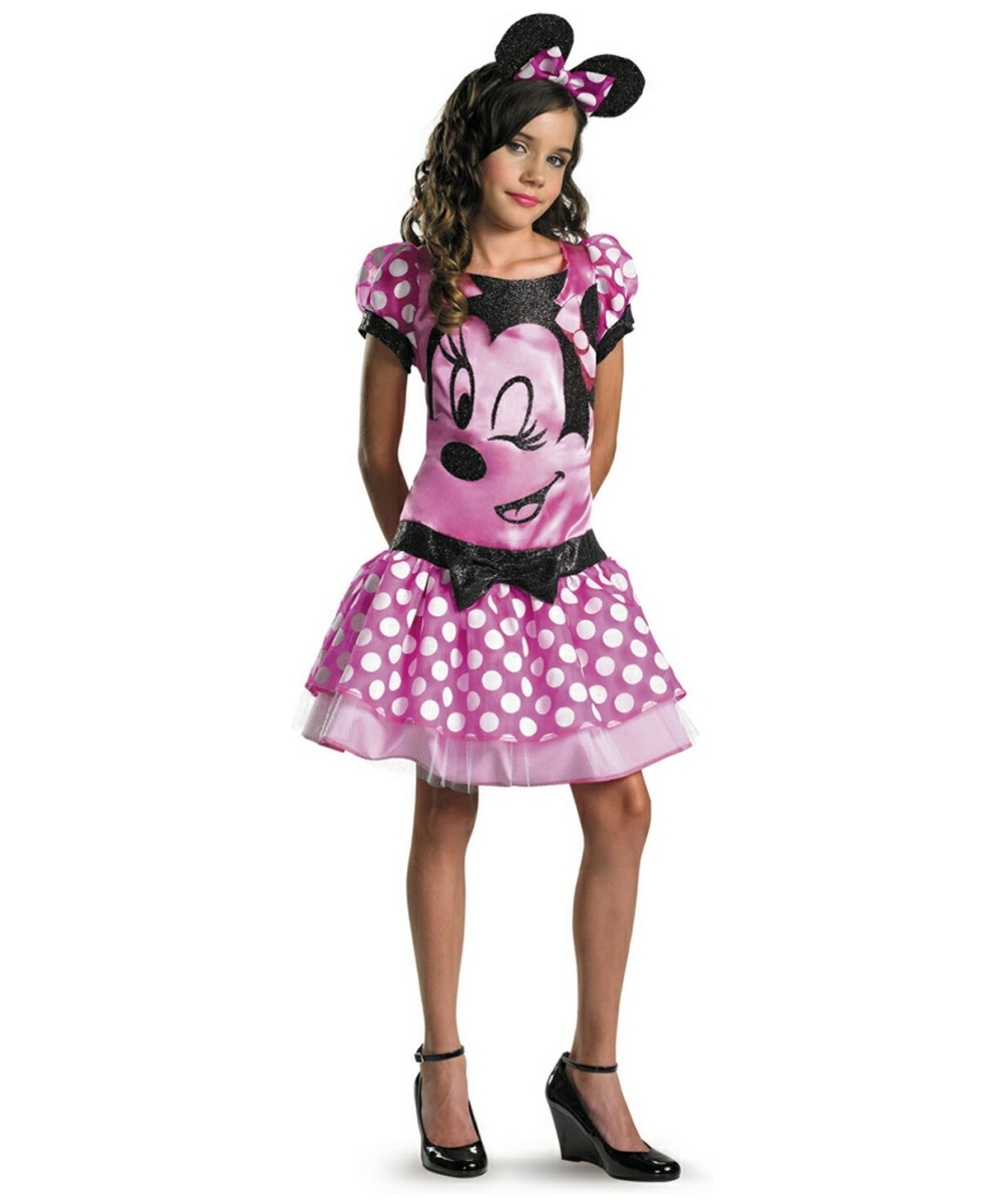 Girls Clubhouse Minnie Mouse Costume