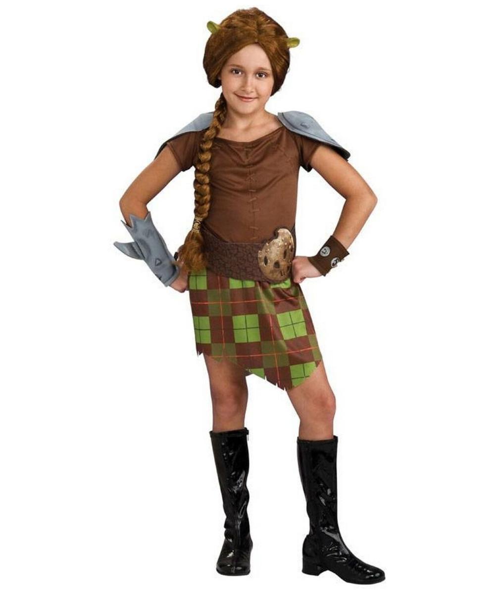 sc 1 st  Wonder Costumes & Shrek Fiona Warri Child Costume - Girl Movie Costumes