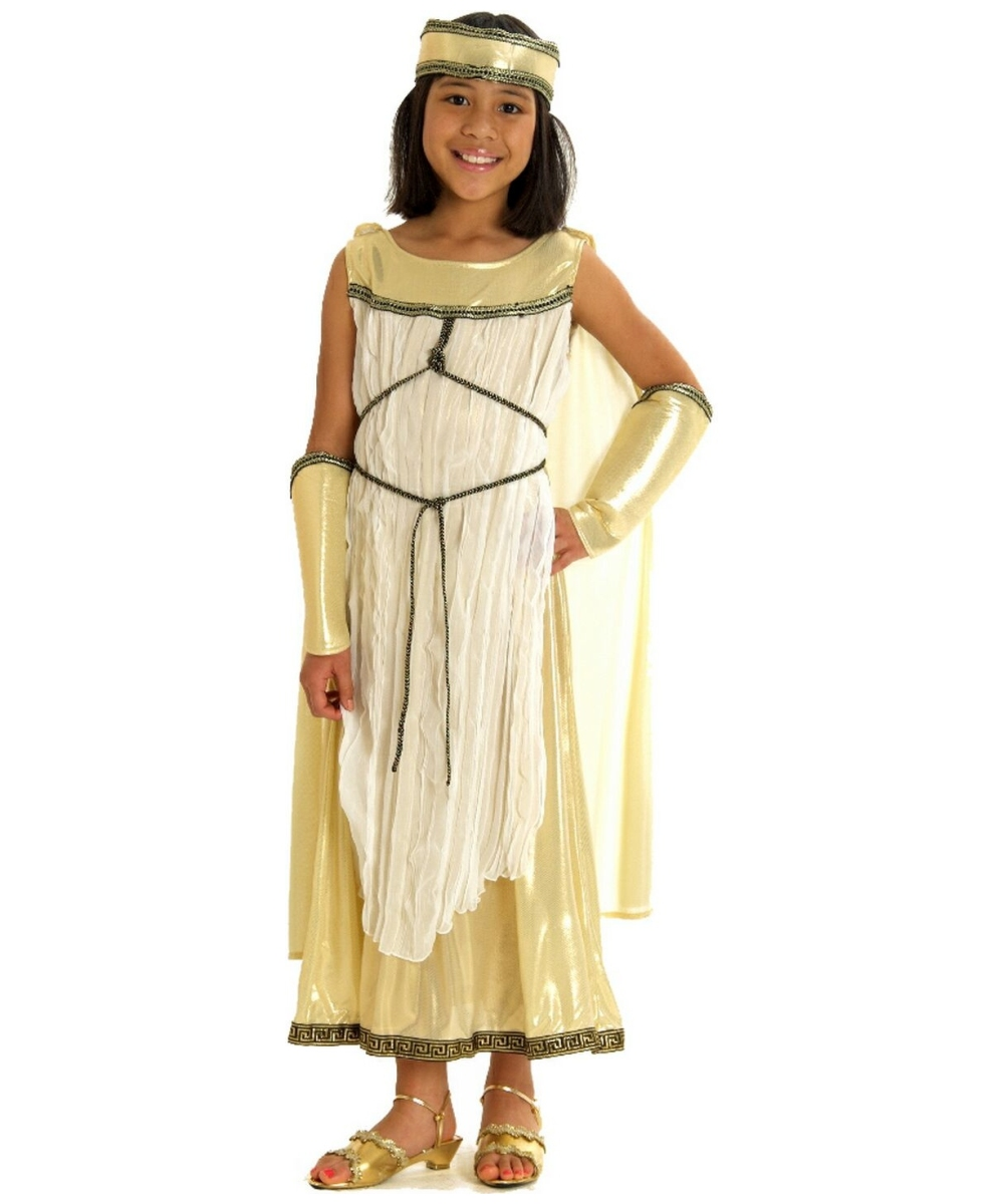 Ancient Greek Goddess Girls Halloween Costume