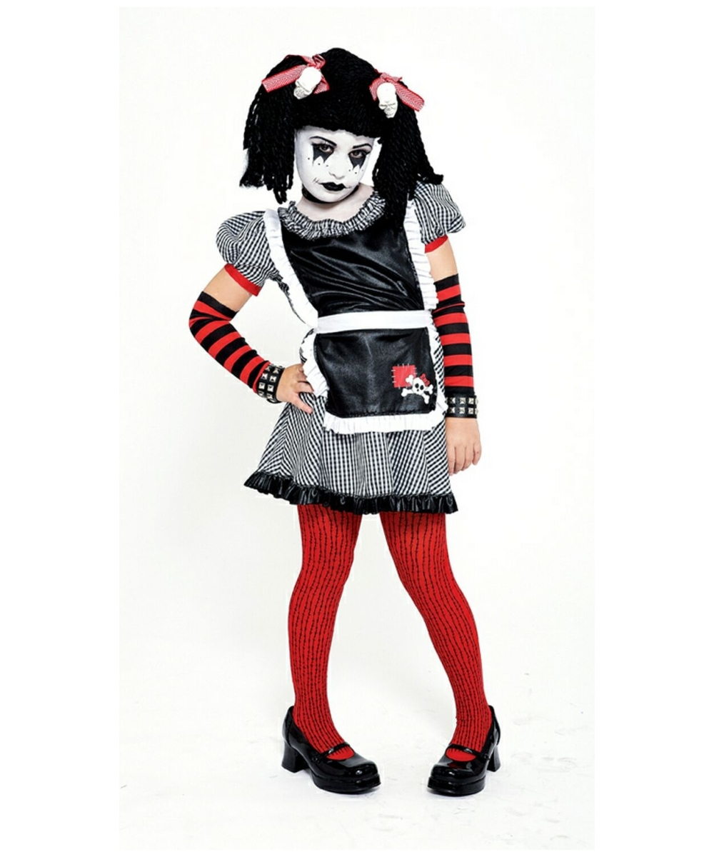 Plus Size Gothic Rag Doll Costume Halloween Costumes That