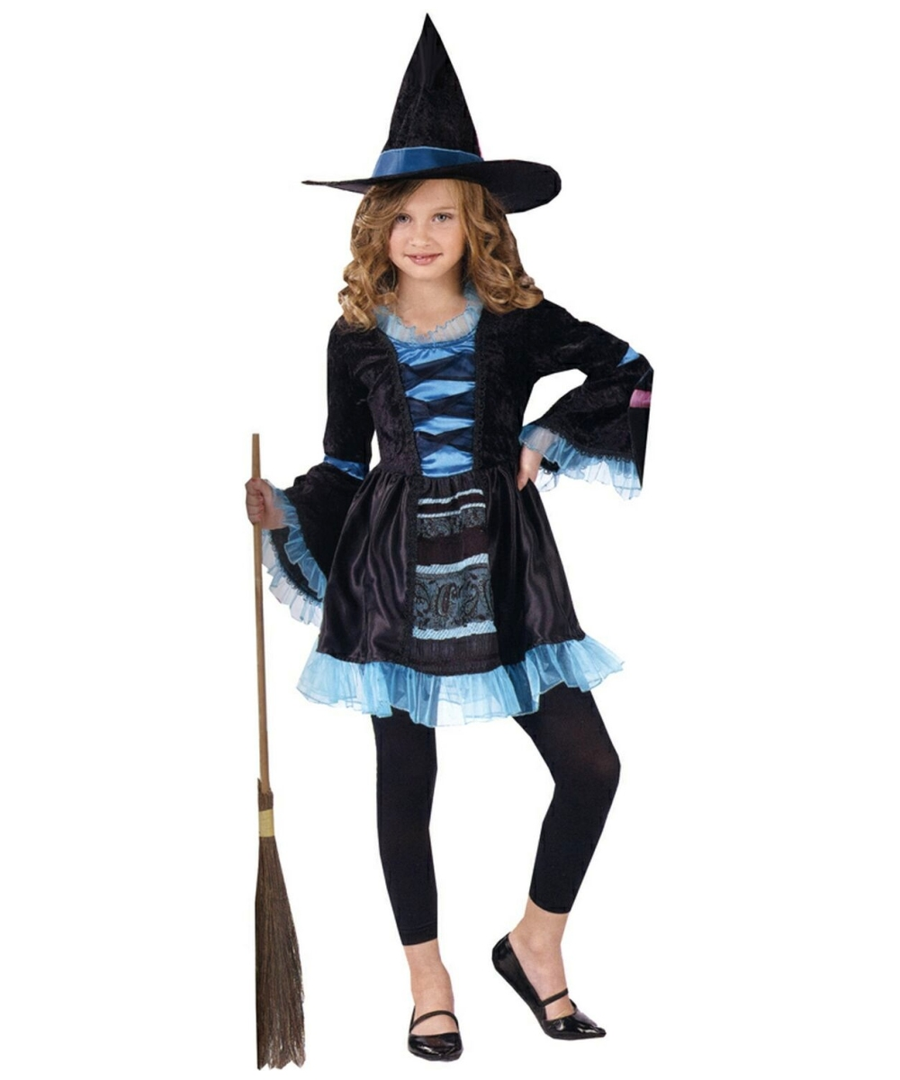 sc 1 st  Wonder Costumes & Sassy Victorian Witch Kids Halloween Costume - Girls Costumes