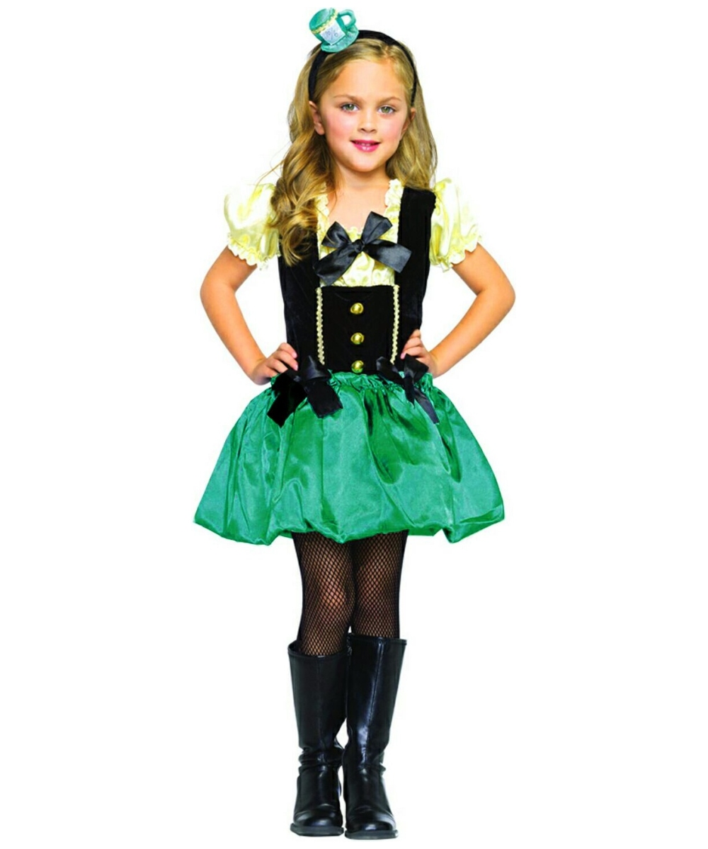 Girls Tea Party Princess Costume