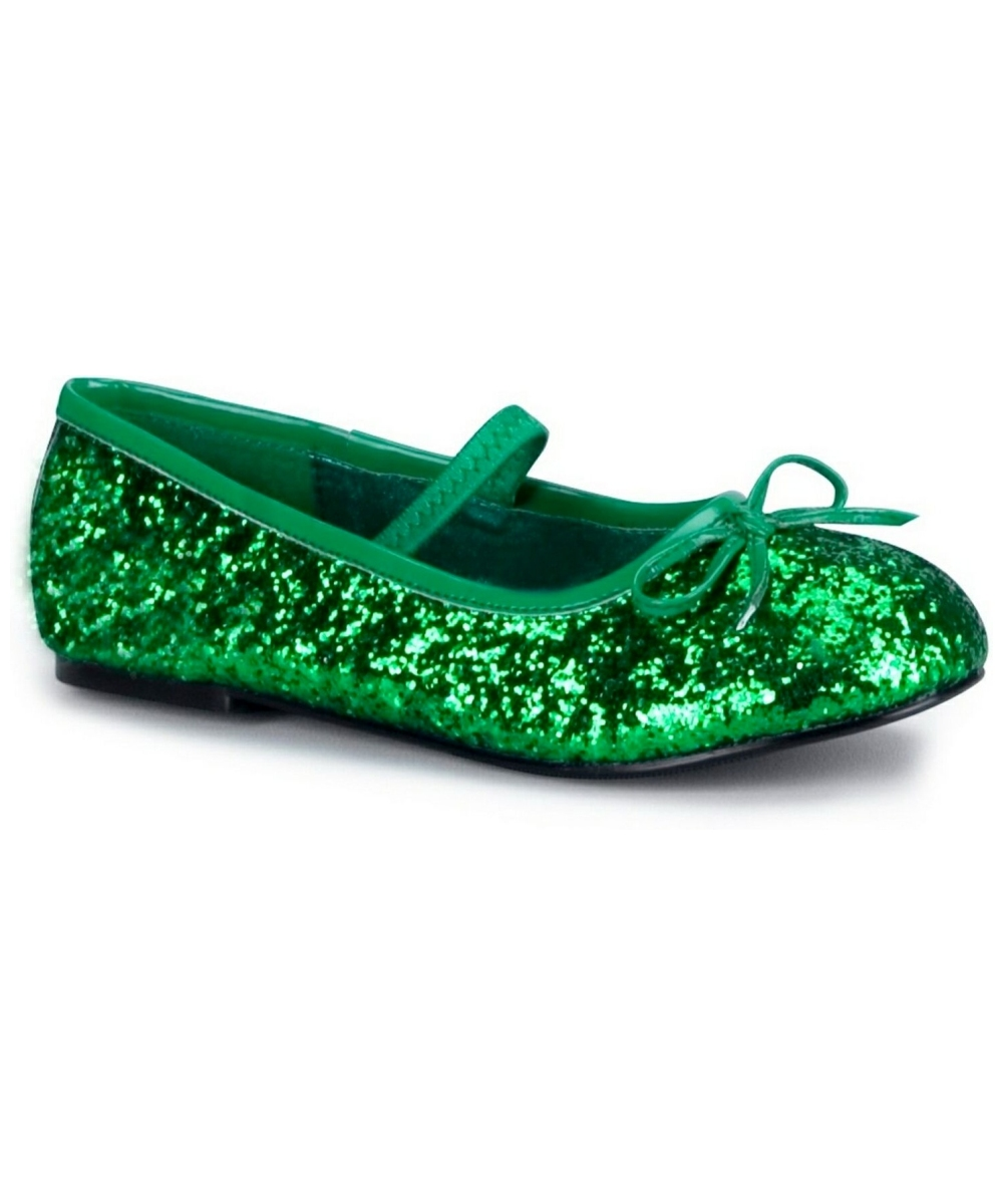 Green Ballet Shoes Toddler Size