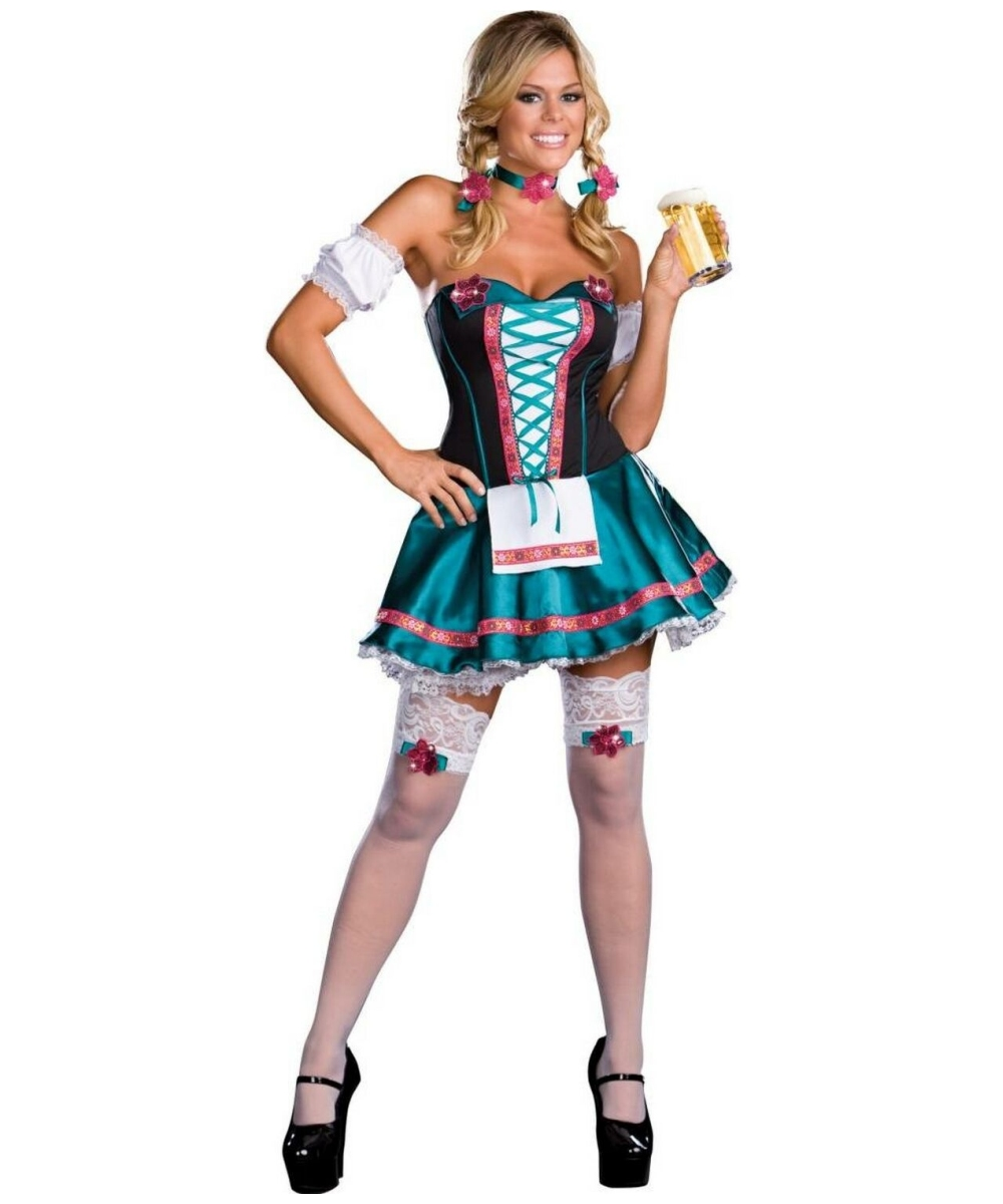 Heidi Hottie Costume Adult Costume Fairytale Halloween