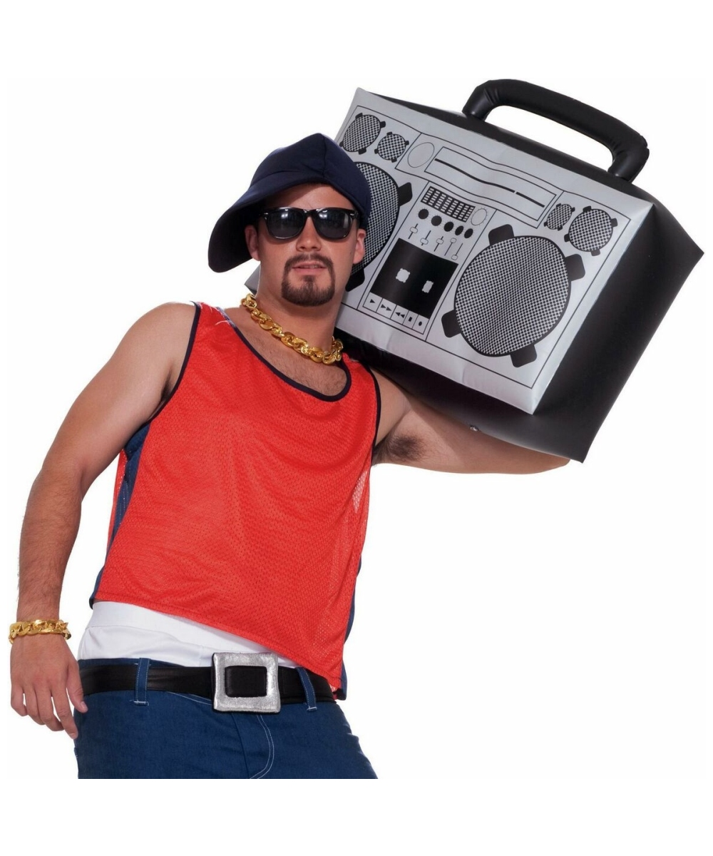 Inflatable Boom Box Costume