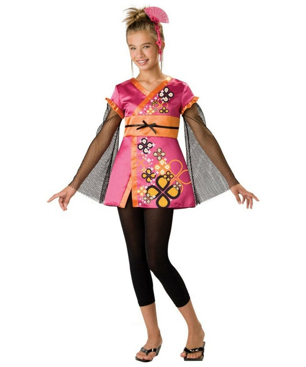 Killer Kimono Teen Costume  sc 1 st  Halloween Costumes : teen cheetah costume  - Germanpascual.Com