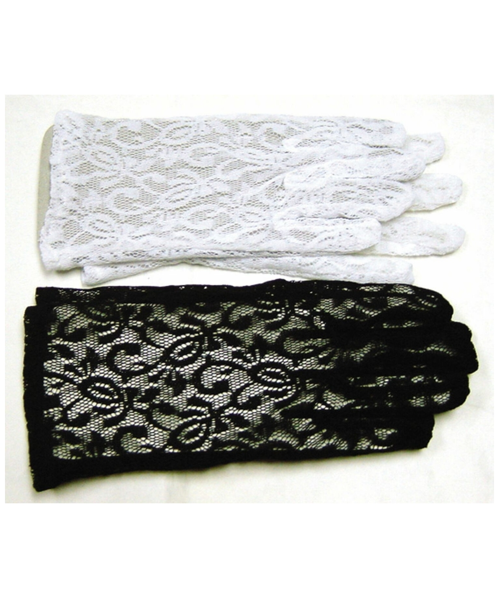 Lace Gloves Costume