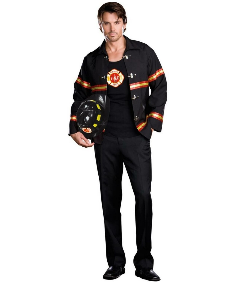 Mens Fire Depart T Male Costume