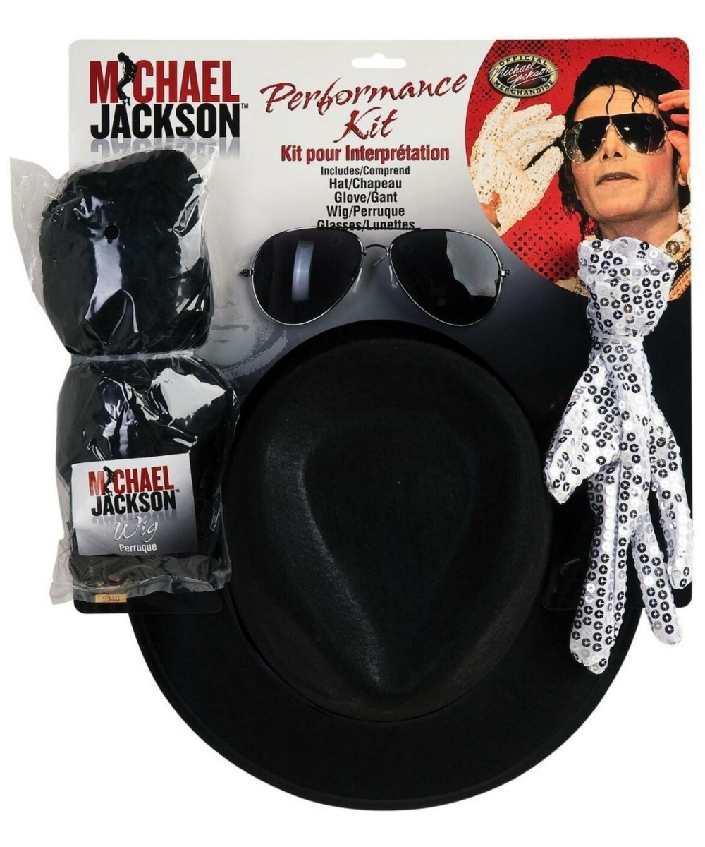 Mens Michael Jackson Costume Kit